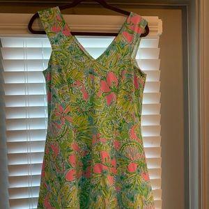 Cotton Lilly Pulitzer Dress Size M